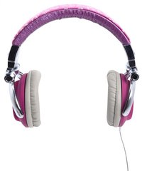 iDance casque Disco 300 rose-Avant
