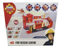 Dickie Toys set Brandweerman Sam Fire Rescue Centre-Achteraanzicht