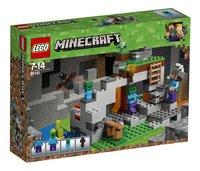 LEGO Minecraft 21141 De zombiegrot-Linkerzijde