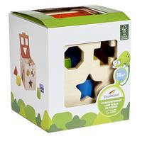 DreamLand trieur de formes Cube en bois-Côté gauche