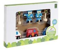 DreamLand Set d'extension pour garage en bois 9 pièces-Côté gauche