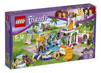 LEGO Friends 41313 La piscine d'Heartlake City-Côté gauche