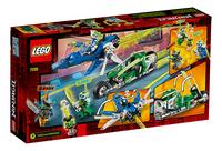 LEGO Ninjago 71709 Les bolides de Jay et Lloyd-Arrière