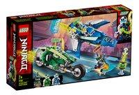 LEGO Ninjago 71709 Les bolides de Jay et Lloyd-Côté gauche