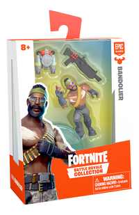 Figurine Fortnite Battle Royale Collection Bandolier-Côté gauche