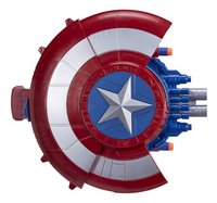 Nerf Captain America: Civil War Bouclier avec tireur de fléchettes secret
