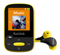 SanDisk mp3-speler Clip Sports 4 GB geel