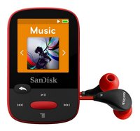 SanDisk mp3-speler Clip Sports 4 GB rood
