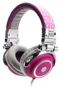 iDance hoofdtelefoon Disco 300 roze-Rechterzijde