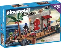Playmobil 6146 SuperSet Îlot des pirates-Avant