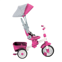 Little Tikes driewieler 4-in-1 Perfect Fit roze-Afbeelding 3