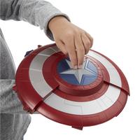 Nerf Captain America: Civil War Bouclier avec tireur de fléchettes secret-Image 1