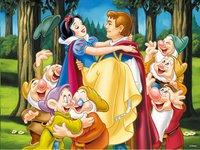 Ravensburger puzzle Blanche-Neige et son prince-Avant