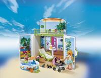 Playmobil Summer Fun 6159 Coffre Terrasse de vacances-Image 1