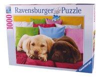 Ravensburger puzzel Knus hè?-Vooraanzicht