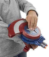 Nerf Captain America: Civil War Bouclier avec tireur de fléchettes secret-Image 2