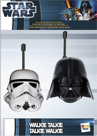 Walkietalkie Star Wars Face
