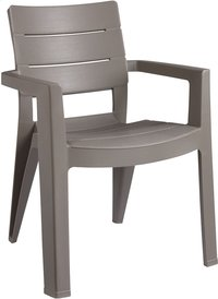 Keter Allibert chaise de jardin Ibiza cappuccino