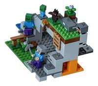 LEGO Minecraft 21141 De zombiegrot-Vooraanzicht
