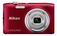 Nikon appareil photo numérique Coolpix A100 rouge