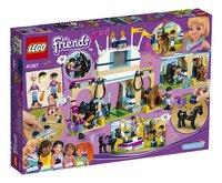 LEGO Friends 41367 Stephanie's paardenconcours-Achteraanzicht