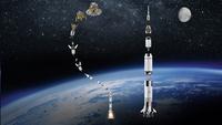 LEGO Ideas 21309 Nasa Apollo Saturn V-Afbeelding 1