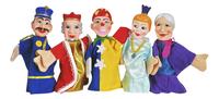 5 marionnettes-Avant