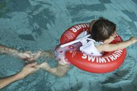 Bouée Swimtrainer Classic rouge-Image 4