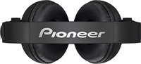 Pioneer casque HDJ-500 noir-Vue du haut