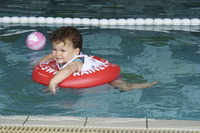 Zwemband Swimtrainer Classic rood-Afbeelding 3