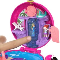 Polly Pocket speelset World Flamingo Compact-Afbeelding 1