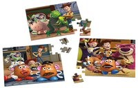 Ravensburger puzzle 3 en 1 Toy Story 3 : Woody & Rex-Avant