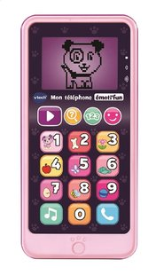 VTech Mon téléphone émoti'fun rose-commercieel beeld