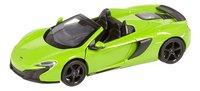 DreamLand voiture Showroom de luxe McLaren 650S Spider vert-commercieel beeld