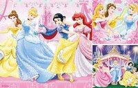 Ravensburger puzzel 3-in-1 Disney Princess-Vooraanzicht
