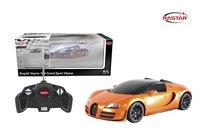 Voiture RC Bugatti Veyron orange