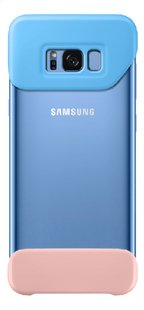 Samsung cover Galaxy S8+ blauw/roze