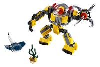 LEGO Creator 3-in-1 31090 Onderwaterrobot-Vooraanzicht