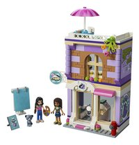 LEGO Friends 41365 Emma's kunstatelier-Vooraanzicht