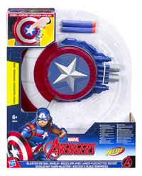 Nerf Avengers Captain America Blaster Reveal Shield