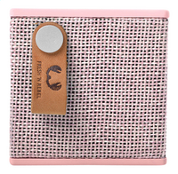 Fresh 'n Rebel luidspreker bluetooth Rockbox Cube Fabriq Edition roze