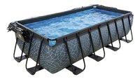 EXIT zwembad Stone met overkapping 4 x 2 m-commercieel beeld