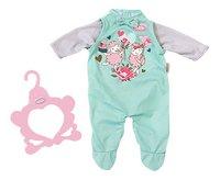 Baby Annabell kledijset romper groen-Vooraanzicht