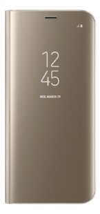 Samsung foliocover Galaxy S8 Clear stand view goud