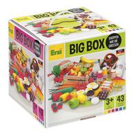 Erzi houten speelset Winkelwaren Big box 43-delig-Linkerzijde