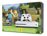 XBOX One S 500 GB + Minecraft-Côté droit