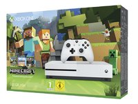 XBOX One S 500 GB + Minecraft-Rechterzijde