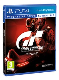 PS4 GT Sport FR/ANG-Côté gauche