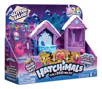 Speelset Hatchimals CollEGGtibles Glitter Salon Royal Snow Ball-Linkerzijde