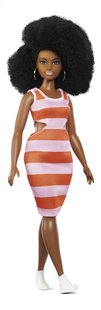 Barbie mannequinpop Fashionistas Curvy 105 - Bold Stripes-Linkerzijde